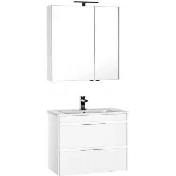 Комплект мебели для ванной Aquanet Тулон 85 белый