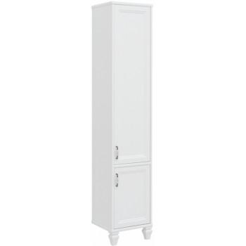 Шкаф-пенал для ванной Aquanet Валенса NEW 40 белый