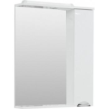 Зеркало-шкаф с подсветкой Aquanet Гретта 70 белый