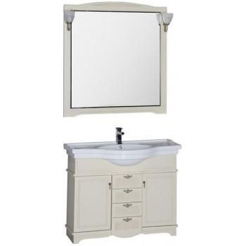 Комплект мебели для ванной Aquanet Луис 110 бежевый