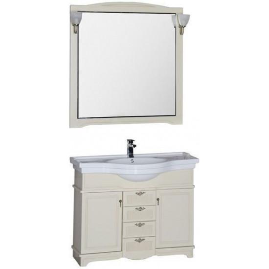 Комплект мебели для ванной Aquanet Луис 110 бежевый в интернет-магазине ROSESTAR фото