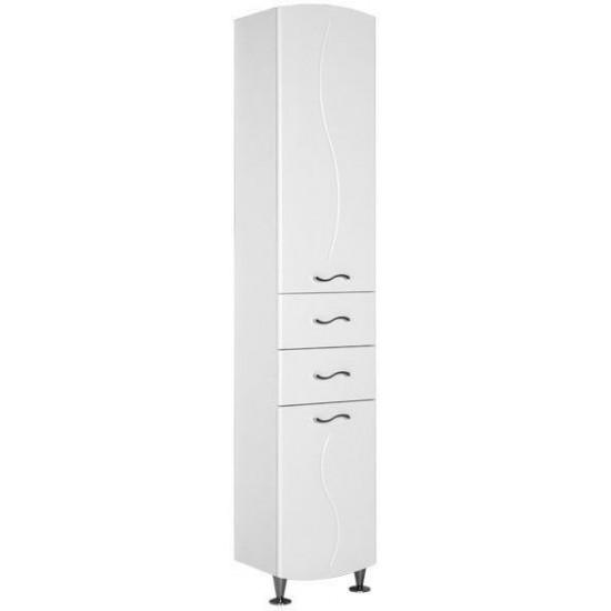 Шкаф-пенал для ванной Aquanet Моника 40 белый в интернет-магазине ROSESTAR фото