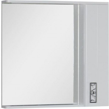 Зеркало-шкаф с подсветкойAquanet Паллада 90 белый