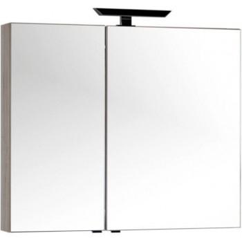 Зеркало-шкаф Aquanet Мадейра 100 дуб кантри