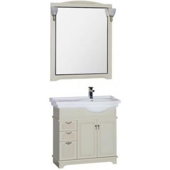Комплект мебели для ванной Aquanet Луис 90 R бежевый