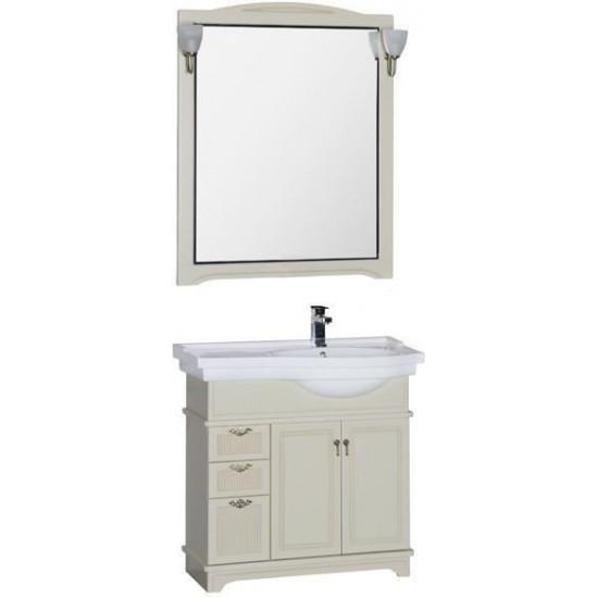 Комплект мебели для ванной Aquanet Луис 90 R бежевый в интернет-магазине ROSESTAR фото