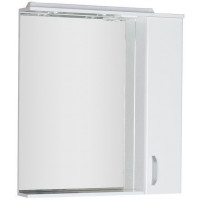 Зеркало-шкаф с подсветкой Aquanet Глория 80 белый