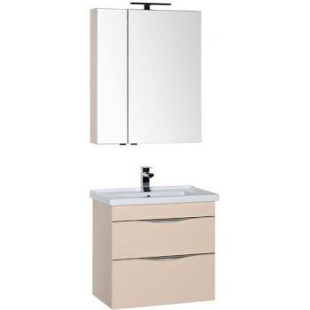 Комплект мебели для ванной Aquanet Эвора 70 бежевый