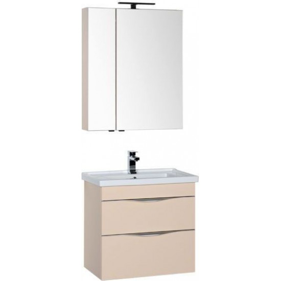 Комплект мебели для ванной Aquanet Эвора 70 бежевый в интернет-магазине ROSESTAR фото