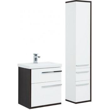 Комплект мебели для ванной Aquanet Фостер 60 белый/венге