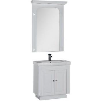 Комплект мебели для ванной Aquanet Фредерика 80 белый