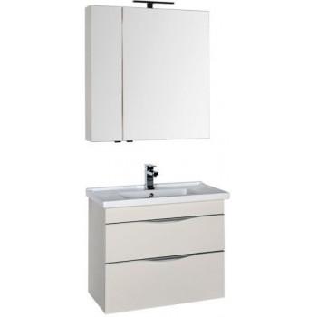 Комплект мебели для ванной Aquanet Эвора 80 крем