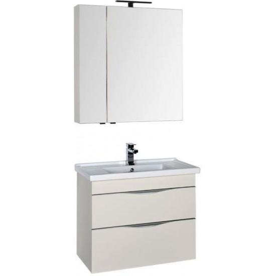 Комплект мебели для ванной Aquanet Эвора 80 крем в интернет-магазине ROSESTAR фото