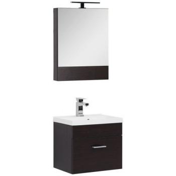 Комплект мебели для ванной Aquanet Нота NEW 50 венге