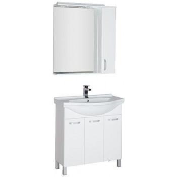Комплект мебели для ванной Aquanet Глория 80 белый