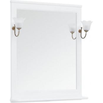 Зеркало Aquanet Валенса NEW 85 белый