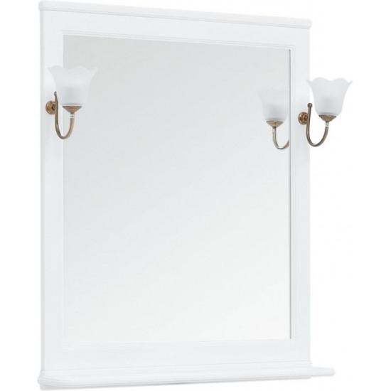 Зеркало Aquanet Валенса NEW 85 белый в интернет-магазине ROSESTAR фото