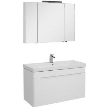 Комплект мебели для ванной Aquanet София 105 белый