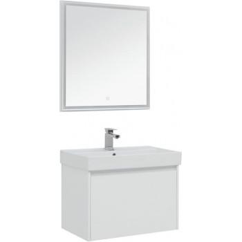 Комплект мебели для ванной Aquanet Nova Lite 75 белый (1 ящик)