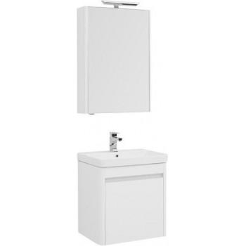 Комплект мебели для ванной Aquanet Вилора 60 белый