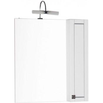 Зеркало-шкаф Aquanet Честер 85 белый