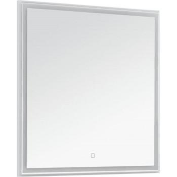 Зеркало Aquanet Nova Lite 75 белый LED