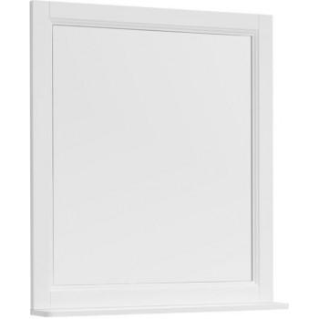 Зеркало Aquanet Бостон М 80 белый