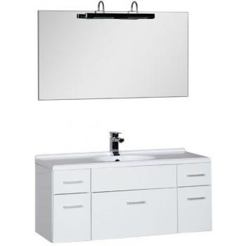 Комплект мебели для ванной Aquanet Данте 110 белый