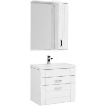 Комплект мебели для ванной Aquanet Рондо 70 белый антик (2 ящика)