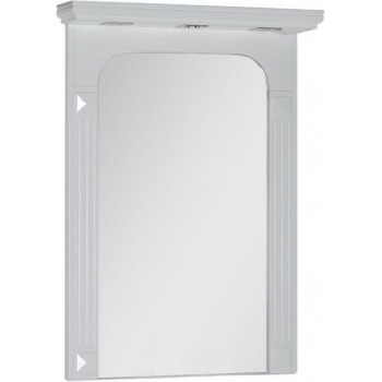 Зеркало Aquanet Фредерика 80 белый