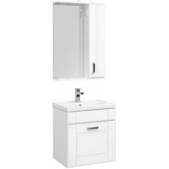 Комплект мебели для ванной Aquanet Рондо 60 белый антик (1 ящик)