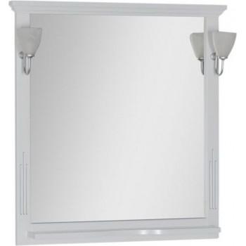 Зеркало Aquanet Тулуза 85 белый