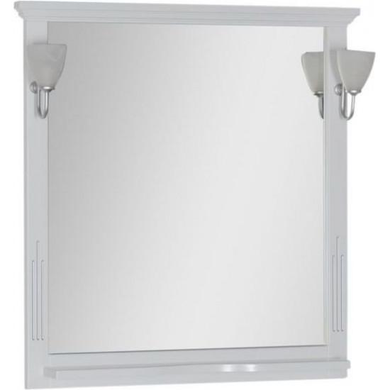 Зеркало Aquanet Тулуза 85 белый в интернет-магазине ROSESTAR фото