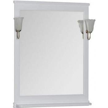 Зеркало Aquanet Валенса 70 белый