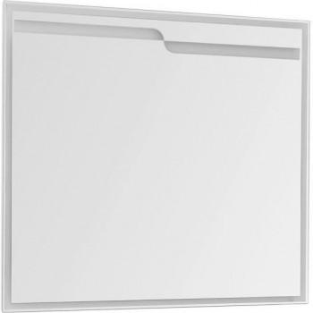 Зеркало с подсветкой Aquanet Модена 100 белый