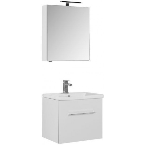 Комплект мебели для ванной Aquanet Порто 60 белый в интернет-магазине ROSESTAR фото