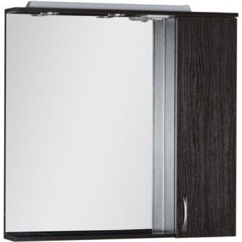 Зеркало-шкаф с подсветкой Aquanet Донна 90 венге