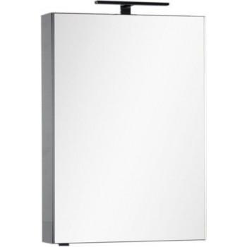 Зеркало-шкаф Aquanet Эвора 60 серый антрацит