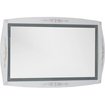 Зеркало Aquanet Виктория 120 белый/золото