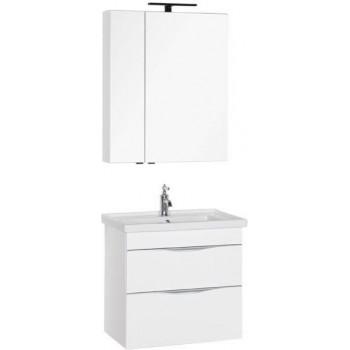 Комплект мебели для ванной Aquanet Эвора 70 белый