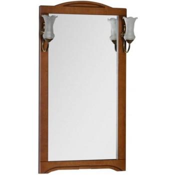 Зеркало Aquanet Луис 65 темный орех