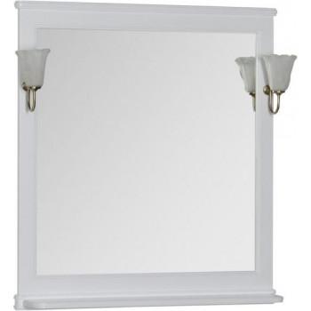 Зеркало Aquanet Валенса 90 белый