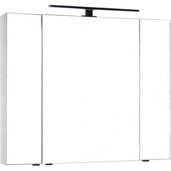 Зеркало-шкаф Aquanet Эвора 100 белый