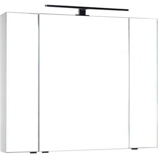Зеркало-шкаф Aquanet Эвора 100 белый в интернет-магазине ROSESTAR фото