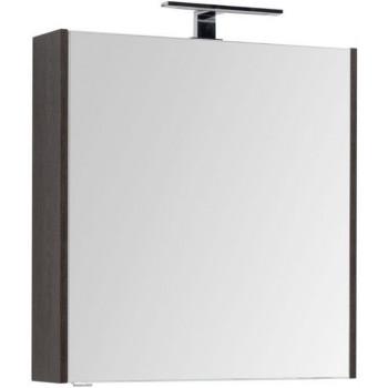 Зеркало-шкаф Aquanet Остин 75 дуб кантербери
