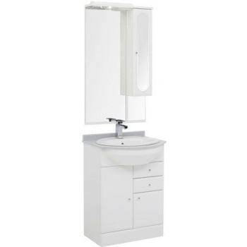 Комплект мебели для ванной Aquanet Марсель 60 белый