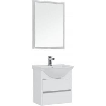 Комплект мебели для ванной Aquanet Сидней 60 белый