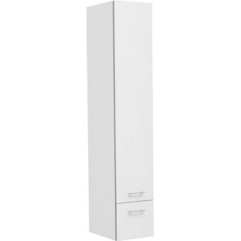 Шкаф-пенал для ванной Aquanet Верона 30 белый (подвесной)