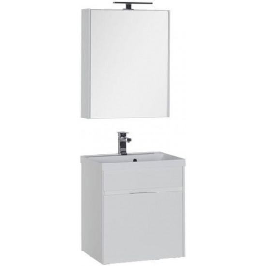 Комплект мебели для ванной Aquanet Латина 60 белый (1 ящик) в интернет-магазине ROSESTAR фото