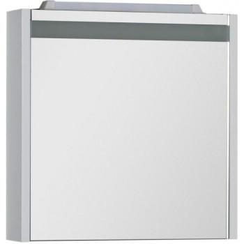 Зеркало-шкаф с подсветкой Aquanet Лайн 60 белый